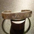 ナバホ Thomas・Curtis ジグザグライン バングル約15〜16・5cm用