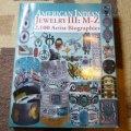 ギフトアイテム60〜 洋書 「AMERICAN INDIAN JEWELRY III M〜Z」 2013年発行ハードブックカバー付き