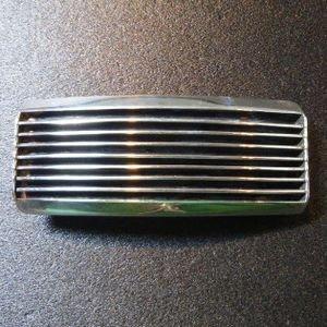 画像1: ナバホ Tom・Hawk シルバー ラインデザイン バックル1インチ幅