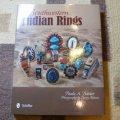 ギフトアイテム35〜 洋書 「Southwestern Indian Rings」 2011年発行ハードブックカバー付き