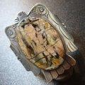 Used・Antique ジャスパー付 BIGワイズサンダーバード型バングル約16・5〜17・5cm用