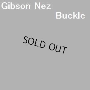 画像1: ナバホ Gibson・Nez トゥーファーキャスト×フラワー? ターコイズ付 バックル1・1/2インチ幅