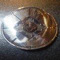 ナバホ Kee・Nez オーバレイ サンバースト×14Kゴールドサンフェイス バックル1・1/4インチ幅
