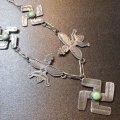 Used・Antique スワスティカ(卍)×ターコイズ&サンダーバードetc ネックレス約75cm