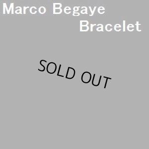 画像1: ナバホ Marco・Begaye オーバレイ ビスビーターコイズ付 バングル約16〜17cm用